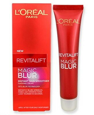 2 X L'Oreal REVITALIFT MAGIC BLUR INSTANT SKIN SMOOTHER 30ML X 2 - NEW
