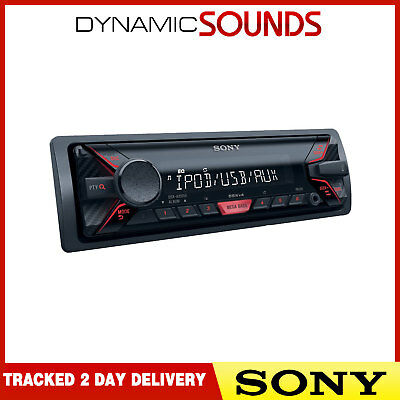 Sony DSX-A200UI Car Stereo USB Detachable MP3 Front AUX iPod iPhone - REFURB