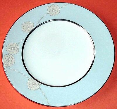 """Royal Doulton ENCHANTMENT Accent Luncheon Plate Blue Banded 9"""" New"""