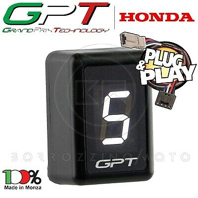 Contamarce Gpt Indicatore Bianco Plug & Play Honda Cbr 1000 Rr 2004 2005