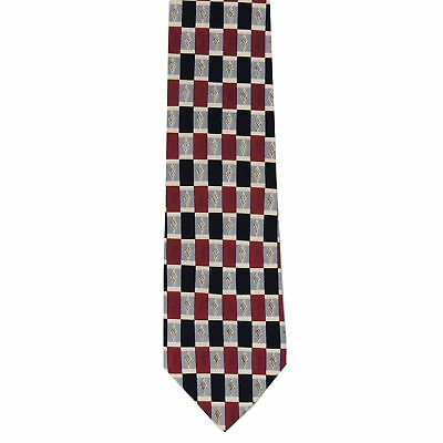 "Cocktail Collection Men's 100% Silk Novelty Neck Tie Red 3 7/8"" x 56"""