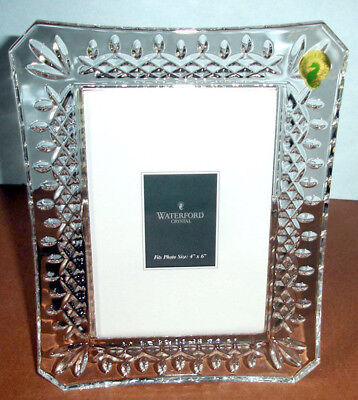 WATERFORD LISMORE CRYSTAL Picture Frame 4x6\