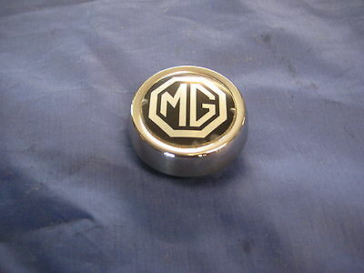 Mg    Mgb Roadster Or Gt Rostyle Wheel Centre Cap Including Badge   ***eb110
