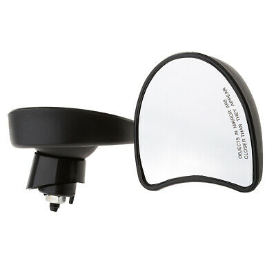 Batwing Fairing Mount Mirrors For Street Glide Special FLHXS 2014-2016 Black