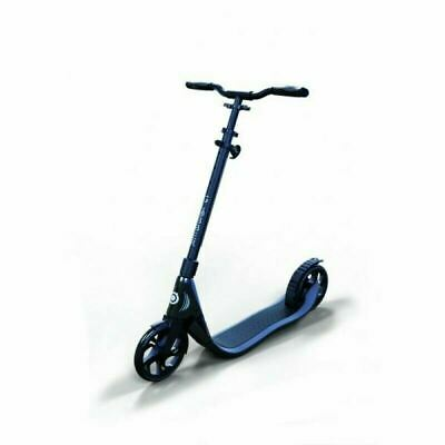 2017 Globber One NL 205 Folding Scooter Black/Charcoal Grey- FREE shipping