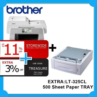 Brother MFC-L9550CDW 4in1 Color Laser Printer+EXTRA: Tray FREE UPGRADE TO 8900