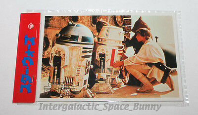 1978 Star Wars Japanese Yamakatsu Trading Cards Sealed Card Pack R2-D2 R5-D4