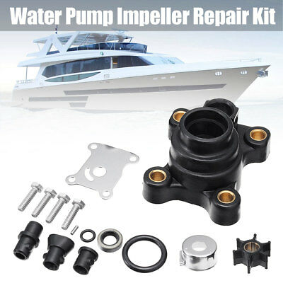 Full Water Pump Repair Kit 9.9 15HP For Johnson Evinrude 394711 Impeller 386084