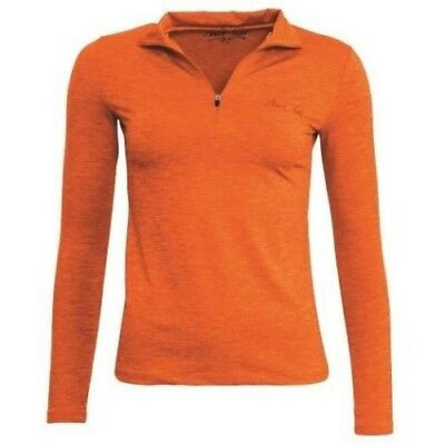 MARK TODD CINDY SECOND SKIN ORANGE long sleeve soft jersey machine washable