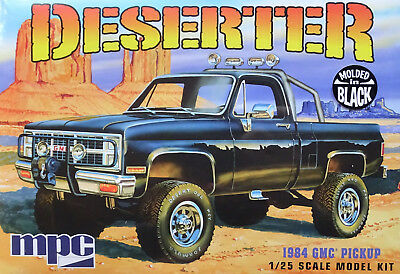 MPC® 848/12 1984er GMC® Pickup Deserter (Molded in black) in 1:25