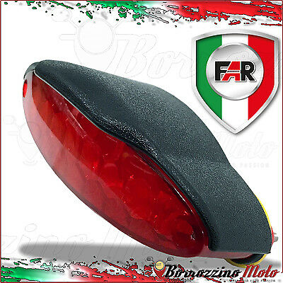 Far Luce Fanalino Stop A Led Completo Posteriore Universale Moto Cafe Racer
