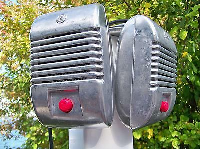 2 New Red Knob Indoor Outdoor Detroit Diecast RCA Drive-In Theatre Movie Speaker