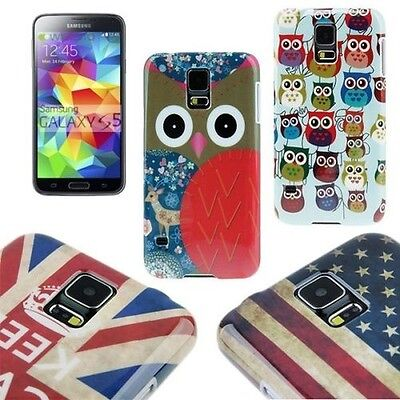 Backcover Pouch Case Cover Shell Protector Motif Cap for Samsung Galaxy S5 Top
