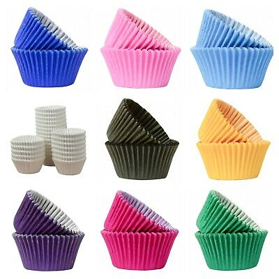 Professional Quality Cupcake Cake Cases - choice of colour