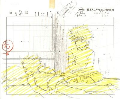 Anime Genga not Cel Hunter X Hunter #3