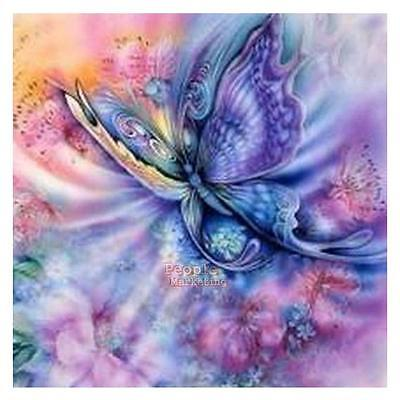 5D Butterfly Diamond Embroidery Painting Cross Stitch Kit DIY Home Room Decor