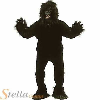 plus de photos prix le plus bas style populaire HOMME GORILLE SINGE Costume singe adulte animal jungle costume déguisement