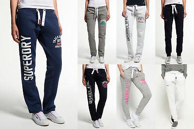 New Womens Superdry Joggers Selection - Various Styles & Colours 3008