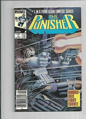 Punisher Limited Series #1 1st Solo Book 1986 4 ISSUE SERIES NEAR MINT CONDITION