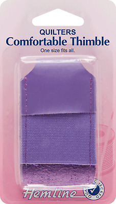 Hemline H223 | One Size Fits All Quilter's Comfortable Thimble