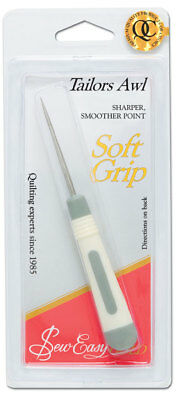 NEW | Sew Easy ER271.ST | Sharp, Smooth Point Soft Grip Tailors Awl | FREE POST