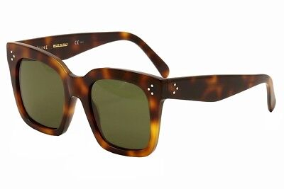 Celine Women's CL 41076S 41076/S 05L/1E Havana/Brown Fashion Sunglasses 51mm