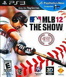 MLB 12: The Show (Sony PlayStation 3, 2012) NEW!