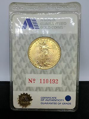 1927 St Gaudens Double Eagle $20 Gold Coin - Uncirculated Sealed Package