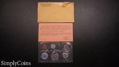 1964 Proof Set ~ Original Envelope With COA ~ US Mint Silver Coin Lot SKU-452