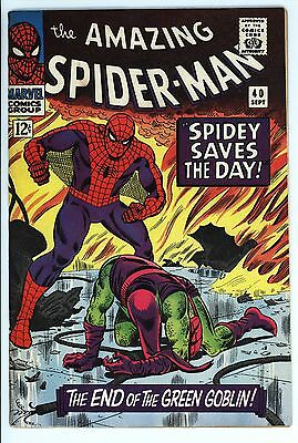 Amazing Spider-Man #40 Vol 1 Near Perfect High Grade Origin of the Green Goblin