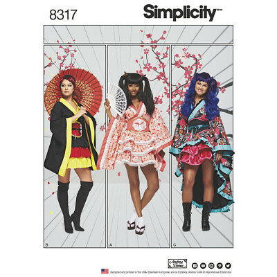 Simplicity Sewing Pattern 8317   Misses' Costumes