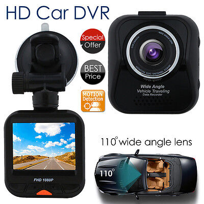 Full HD 1080P Car DVR Vehicle Camera Video Recorder Cam With 2.3 Inch Screen MIC