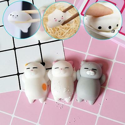 Animal Lazy Cat Mini Decompress Squishy Squeeze Soft Slow Rising Healing Toy YK