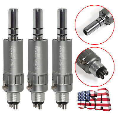 5*Dental Slow Low Speed Contra Angle Handpiece Inner Water Push Button Fit NSK E
