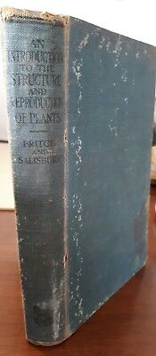 An Introduction To The Structure Reproduction Of Plants Vintage Book Fritch 1920
