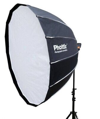 Phottix 120cm Hexa Para Softbox - 16 Sided - includes inner and outer