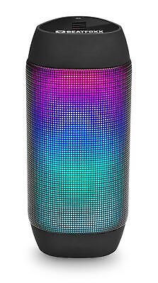 Mobiler LED Disco Party Bluetooth Lautsprecher Radio Box USB SD AUX MP3 Player