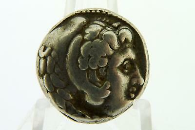 Ancient Greece Greek Alexander III The Great Silver Tetradrachm 336-323 BC Fine