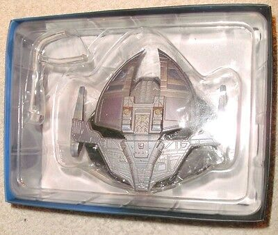 Star Trek Die-Cast Jem'hadar Fighter Scale Model Starship Eaglemoss Ds9 Mib!
