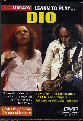 Learn to Play Dio Lick Library Guitar Tuition DVD Set