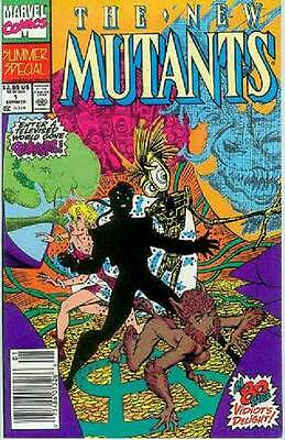 New Mutants Summer Special  # 1 (84 pages) (USA, 1990)