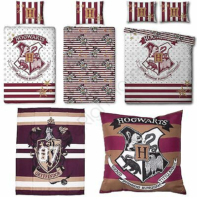 Harry Potter Muggles Bedroom - Cushion, Blanket, Single & Double Duvet Cover Set