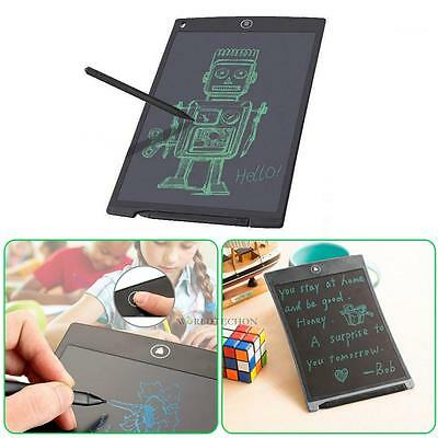 """8.5"""" Digital LCD e-Writer Tablet Writing Drawing Pad Memo Message Boards + Pen"""