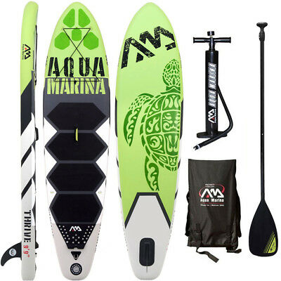 Aqua Marina Thrive 2017 Stand Up Paddle Board Inflatable Paddel Pumpe Sup Isup