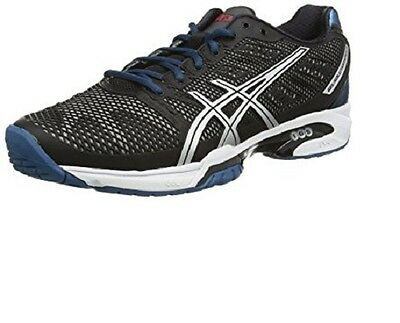 Mens asics Gel Solution Speed 2 Tennis Court Shoes Trainers Size UK 9.5 10 E400Y