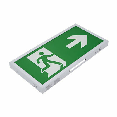 5W LED Slim Green Maintained / Non Maintained Emergency Exit Sign - Right Arrow