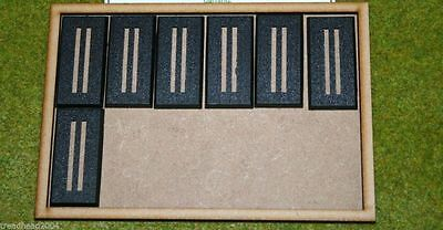 MDF laser cut MOVEMENT TRAY (6×4)25mm infantry or (6×2)25mm x 50mm Cavalry