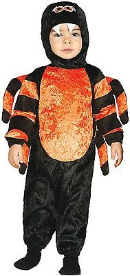 Baby Girls Boys Spider Mini Beast Halloween Fancy Dress Costume Outfit 6-24 mths