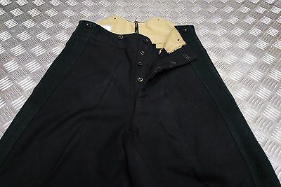 Genuine Vintage British Army No1 / Cavlary Dress Trousers Black or Green Stripe