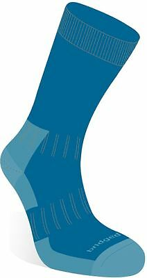 Bridgedale Women's Merino Crew Socks Sky Blue Small 3 - 5.5